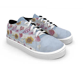 dobra - Tênis - flores(ser)