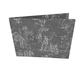 dobra - Nova Carteira Clássica - Dark Wallflowers