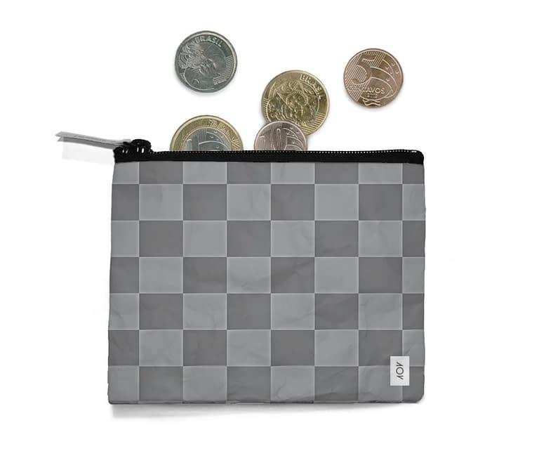 dobra - Porta Moedas - Checkered 3D