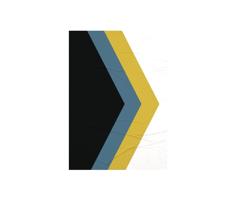 dobra - Lambe Autoadesivo - geométrico triangular