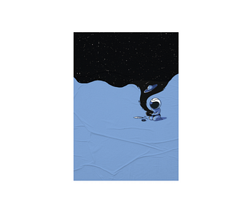 dobra - Lambe Autoadesivo - Universo no potinho