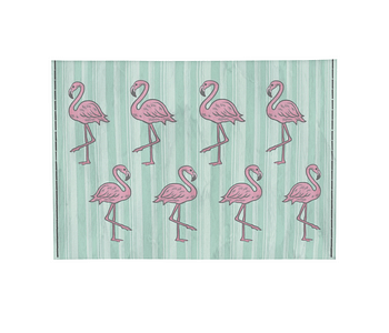 dobra - Porta Cartão - Flamingos Fabulosos