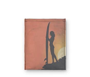 dobra - Capa Kindle - Por do sol e as sombras do Surf