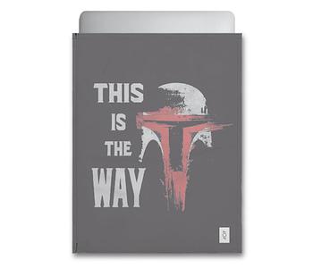 dobra - Capa Notebook - This is the way - Mandalorian / Star Wars