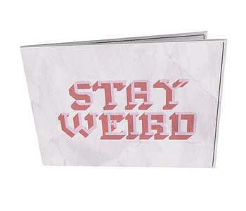 dobra - Carteira Old is Cool - STAY WEIRD