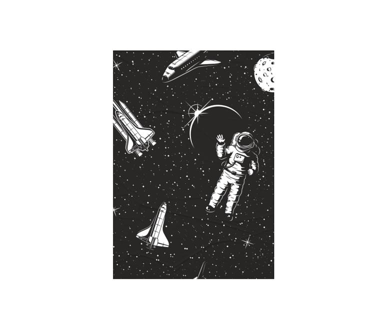 dobra - Lambe Autoadesivo - Spaceman