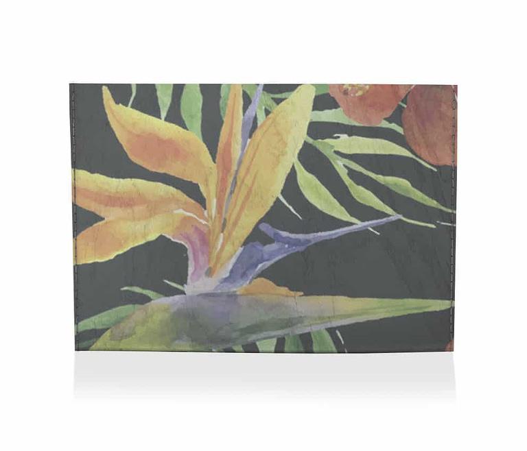 dobra porta cartao floral