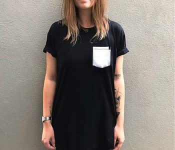 dobra - camiseta base preta