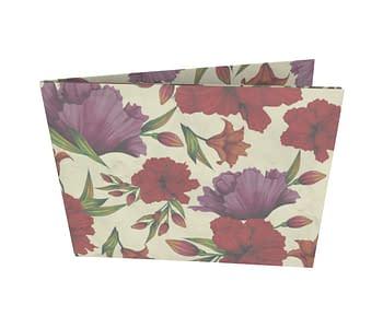 dobra - Nova Carteira Clássica - Floral Ostentação