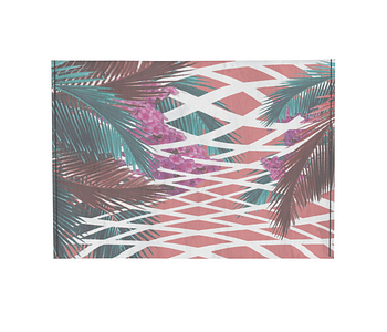 dobra - Porta Cartão - tropical geo