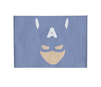 dobra - Porta Cartão - Minimalist Cap. America