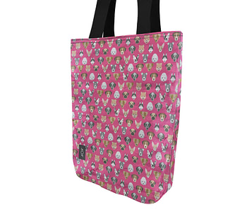 dobra bag cachorrinhos rosa