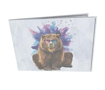 dobra - Carteira Old is Cool - Urso doidão