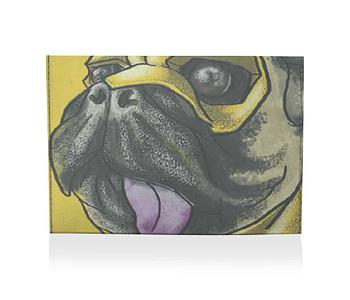 dobra porta cartão pugs life