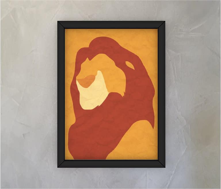 dobra - Quadro - The lion