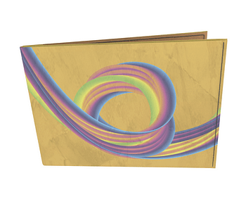 dobra - Carteira Old is Cool - Rainbow Coaster