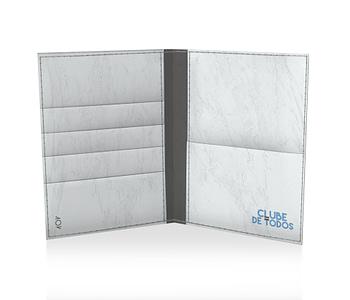 dobra porta passaporte tricolor horizontal