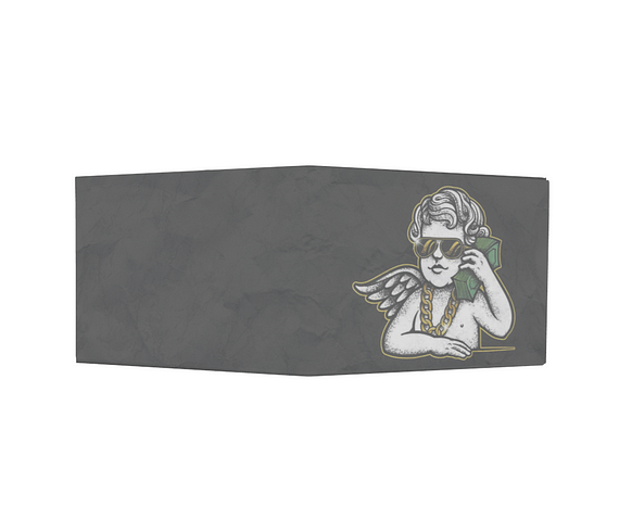 dobra - Nova Carteira Clássica - Anjinho ostentação