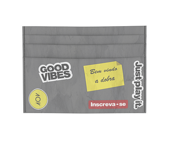 dobra - Porta Cartão - Adesivos