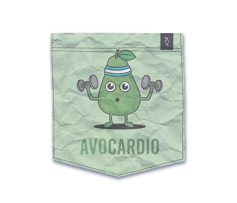 dobra - Bolso - Avocardio: O abacate fitness