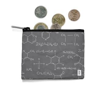 dobra - Porta Moedas - Fórmulas químicas