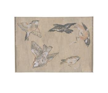 dobra - Porta Cartão - Pássaros