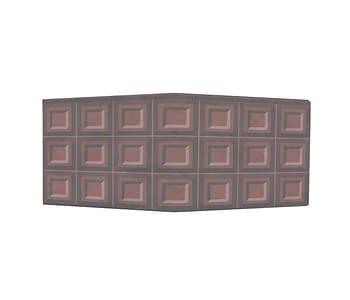 dobra - Nova Carteira Clássica - barra de chocolate
