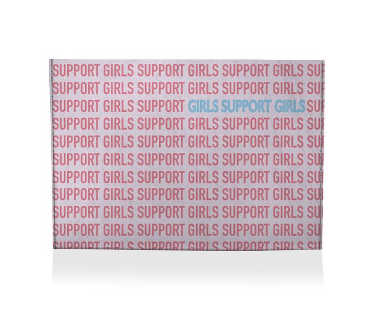 dobra porta cartao girls support girls