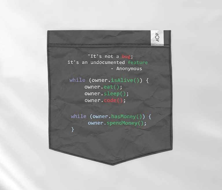 bolso - programador viciado preta