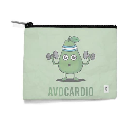 dobra - Necessaire - Avocardio: O abacate fitness