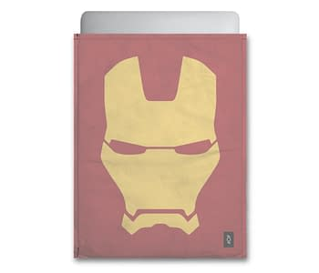 dobra - Capa Notebook - Minimalist Iron Man