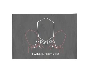dobra - Porta Cartão - I WILL INFECT YOU