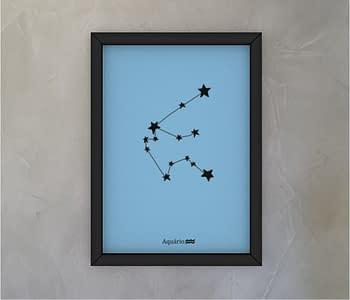 dobra - Quadro - Signo de Aquario