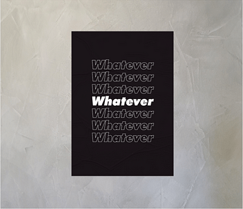 dobra - Lambe Autoadesivo - Whatever