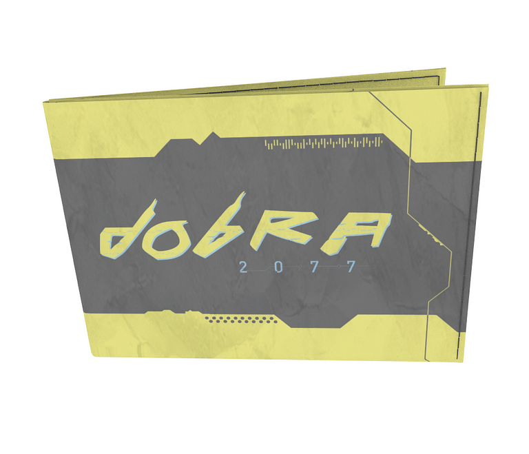 dobra - Carteira Old is Cool - Cyberpunk - Dobra 2077