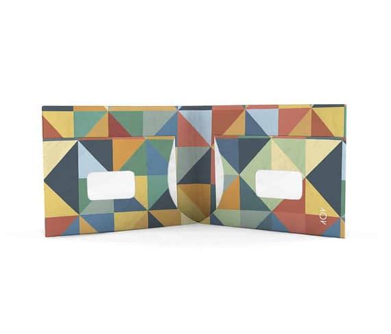 dobra - triângulos coloridos