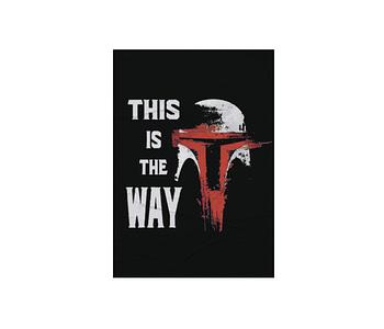 dobra - Lambe Autoadesivo - This is the way - Mandalorian / Star Wars