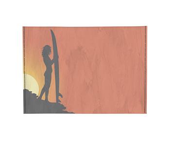 dobra - Porta Cartão - Por do sol e as sombras do Surf