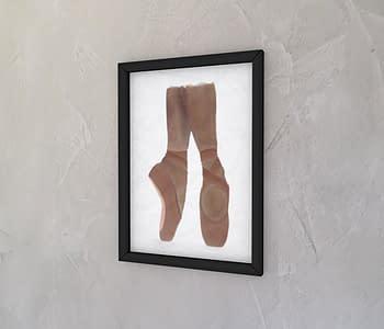 dobra - Quadro - Sapatilhas de ponta / Ballet - black