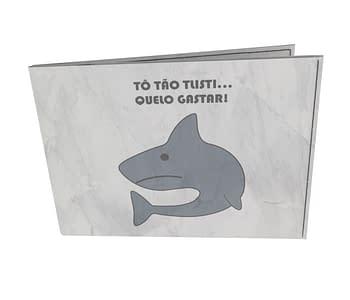 dobra - Carteira Old is Cool - sad shark