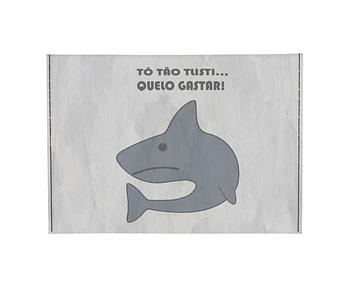 dobra - Porta Cartão - sad shark