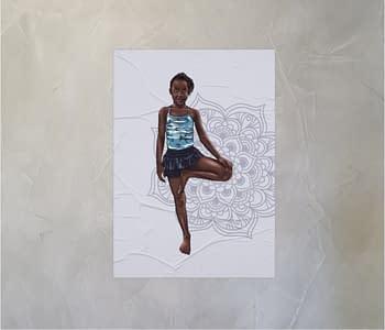 dobra - Lambe Autoadesivo - Alice na praia Lwandi de maravilhas