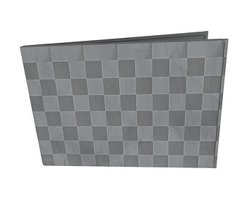 dobra - Carteira Old is Cool - Checkered 3D