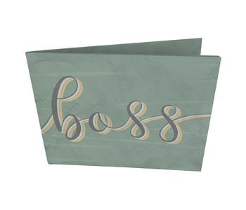 dobra - Nova Carteira Clássica - Girl Boss