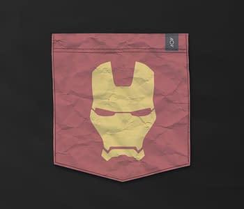 dobra - Bolso - Minimalist Iron Man