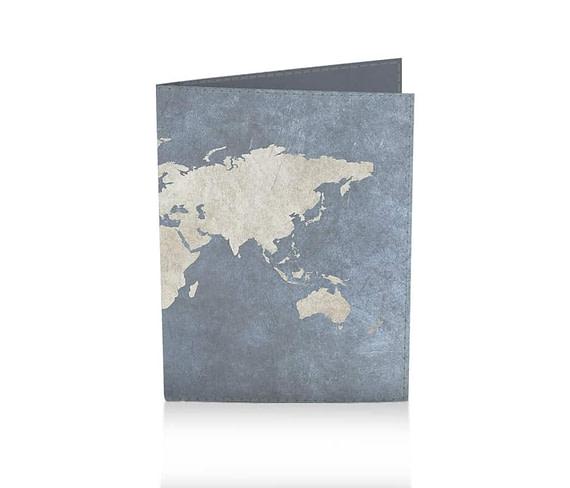 dobra passaporte mapa mundi azulzão