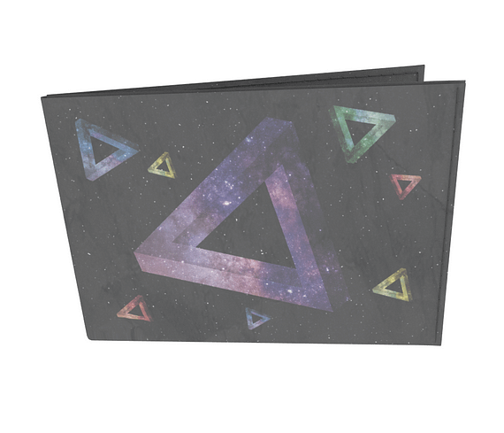 dobra - Carteira Old is Cool - Impossible Triangle - Space