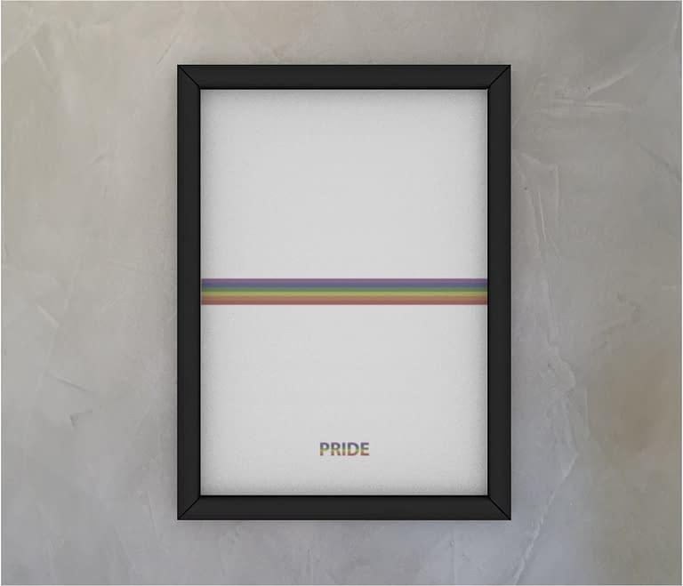 dobra - Quadro - Pride Minimalist - White