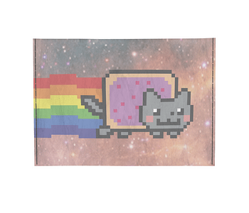 dobra porta cartao nyan cat