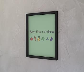 dobra - Quadro - Eat the rainbow!
